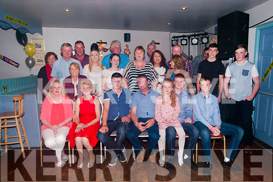 50th Birthday : Paddy Murnane, Crotta, Kilflynn celebrating his 50th birthday with  family & friends at Parker's Bar, Kilflynn on Saturday night last.