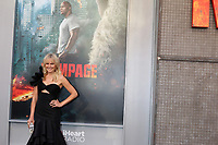 "LOS ANGELES - APR 4:  Malin Akerman at the ""Rampage"" Premiere at Microsoft Theater on April 4, 2018 in Los Angeles, CA"