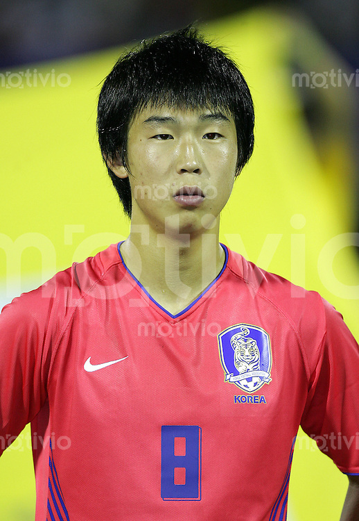 Fussball International U17 WM Korea  Korea - Peru Yoon Bitgaram (KOR)