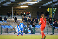 20191221 - WOLUWE: Illustrative picture showing the spectators during the Belgian Women's National Division 1 match between FC Femina WS Woluwe A and KAA Gent B on 21st December 2019 at State Fallon, Woluwe, Belgium. PHOTO: SPORTPIX.BE | SEVIL OKTEM
