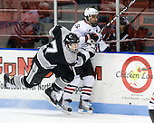 Eric Baier (Providence - 7), Greg Costa (NU - 22) - The Northeastern University Huskies defeated the Providence College Friars 3-1 (EN) on Tuesday, January 19, 2010, at Matthews Arena in Boston, Massachusetts.
