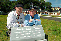 OPENING OF HEALY-RAE PARK 20-6-03<br />