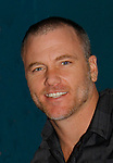 Sean Carrigan - The Young and The Restless - Genoa City Live celebrating over 40 years on February 20, 2016 at the Wellmont Theatre, Montclair, NJ. on stage with questions and answers followed with autographs and photos in the theater.  (Photo by Sue Coflin/Max Photos)