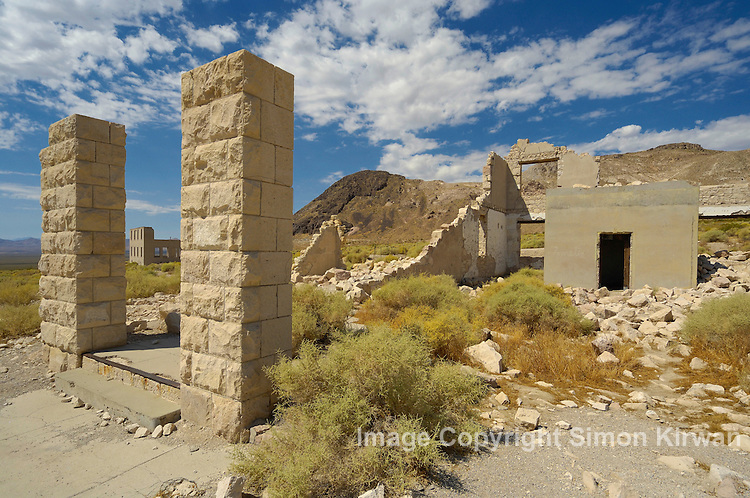 Rhyolite, Nevada, USA