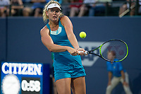 Palo Alto, CA - Thursday, August 3, 2017: Coco Vandeweghe defeated Nicole Gibbs in straight sets 6-0 6-2 at the Bank of the West Classic at the Taube Family Tennis Stadium on the Stanford University campus.