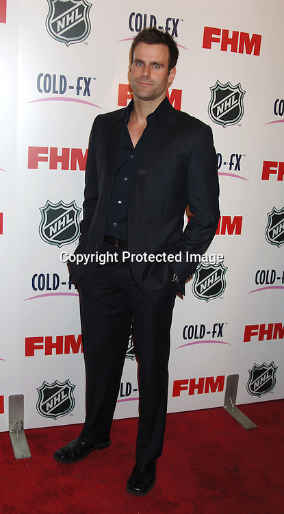 Cameron Mathison ..arriving at The National Hockey League and FHM Magazine Party to celebrate the 2006-2007 hockey season at Marquee on September 27, 2006. ..Robin Platzer, Twin Images