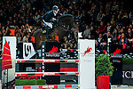 Marco Kutscher of Germany riding van Gogh competes at the Longines Speed Challenge during the Longines Hong Kong Masters 2015 at the AsiaWorld Expo on 13 February 2015 in Hong Kong, China. Photo by Juan Flor / Power Sport Images