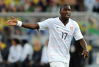 Jozy Altidore of USA. Brazil defeated USA 3-0 during the FIFA Confederations Cup at Loftus Versfeld Stadium in Tshwane/Pretoria, South Africa on June 18, 2009.