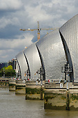 The Thames Barrier, Greenwich, London.