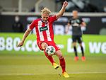 Sebastian Griesbeck (FC Heidenheim, #18),<br /> <br /> GER, FC Heidenheim vs. Werder Bremen, Fussball, Bundesliga Religation, 2019/2020, 06.07.2020,<br /> <br /> DFB/DFL regulations prohibit any use of photographs as image sequences and/or quasi-video., <br /> <br /> <br /> Foto: EIBNER/Sascha Walther/Pool/gumzmedia/nordphoto