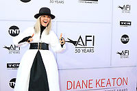 LOS ANGELES - JUN 8:  Diane Keaton at the American Film Institute's Lifetime Achievement Award to Diane Keaton at the Dolby Theater on June 8, 2017 in Los Angeles, CA