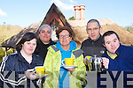 Grace Murray, Anna Johansen, Claire McCarthy Manager, Pat Horgan Kerry Down Syndrome Chairman and Anthony Jones who are preparing for the reopening of Cafe at Deenagh Lodge, Killarney in aid of Kerry Down Syndrome.