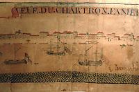 Europe/France/Aquitaine/33/Gironde/Bordeaux: Musée des Chartrons vue du quartier des Chartrons diorama par Barthélémy Guret 1741