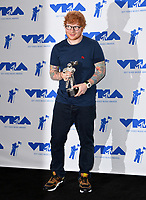 Ed Sheeran in the press room for the 2017 MTV Video Music Awards at The &quot;Fabulous&quot; Forum, Los Angeles, USA 27 Aug. 2017<br /> Picture: Paul Smith/Featureflash/SilverHub 0208 004 5359 sales@silverhubmedia.com