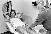 1982, Hilversum, Dutch Open, Melkhuisje, Nastase laat zich verwennen