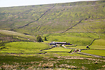 Farmhouse at Duerley Bottom, Sleddale, Yorkshire Dales national park, England, UK