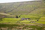 Farmhouse at Duerley Bottom, Sleddale, Yorkshire Dales national park, England, UK