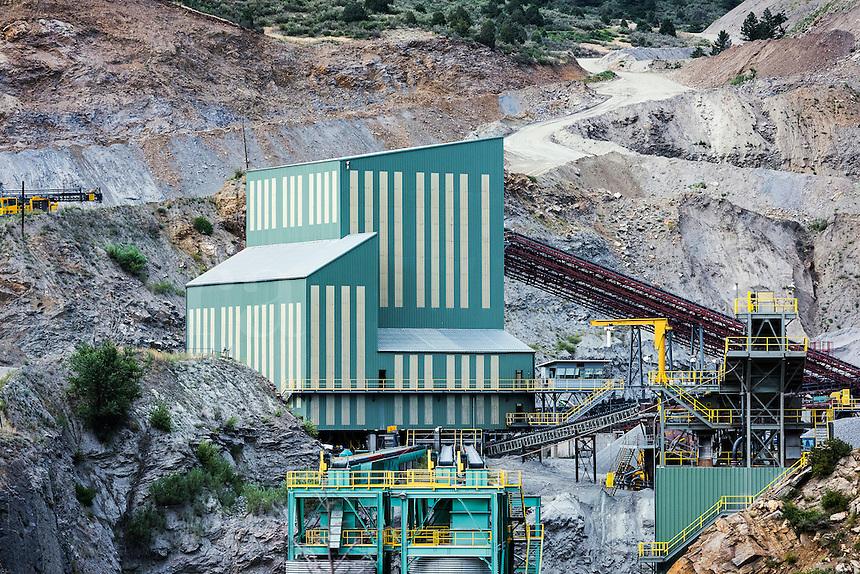 Mining facility, Colorado, USA