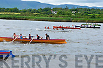 The start of the mixed u12 race at the Callinafercy regatta at Ballykissane Pier on Sunday