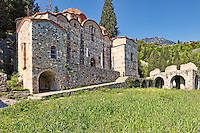 The Monastery of Hodegetria (Aphendiko) in Mystras, Greece
