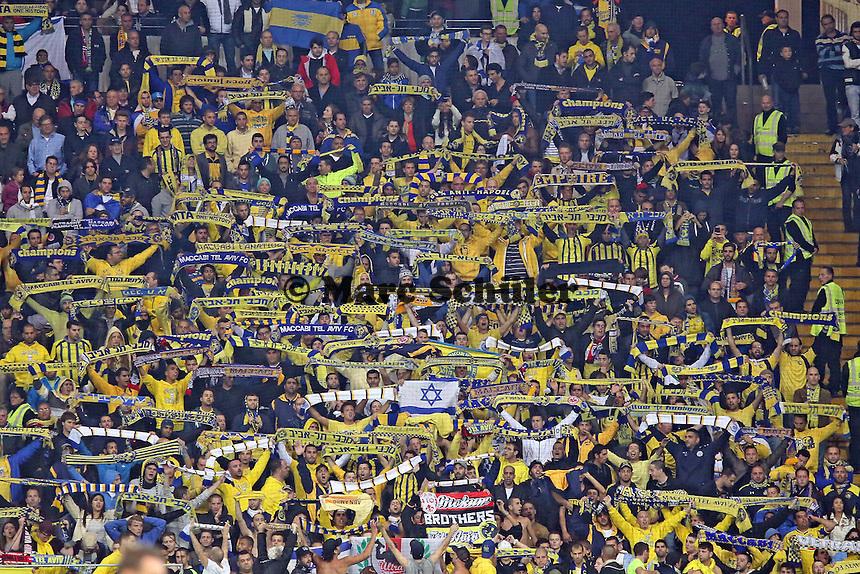Fans aus Tel Aviv - Eintracht Frankfurt vs. Macabi Tel Aviv, Europa League 3. Spieltag
