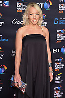 Gail Emms arriving for the BT Sport Industry Awards 2018 at the Battersea Evolution, London, UK. <br /> 26 April  2018<br /> Picture: Steve Vas/Featureflash/SilverHub 0208 004 5359 sales@silverhubmedia.com