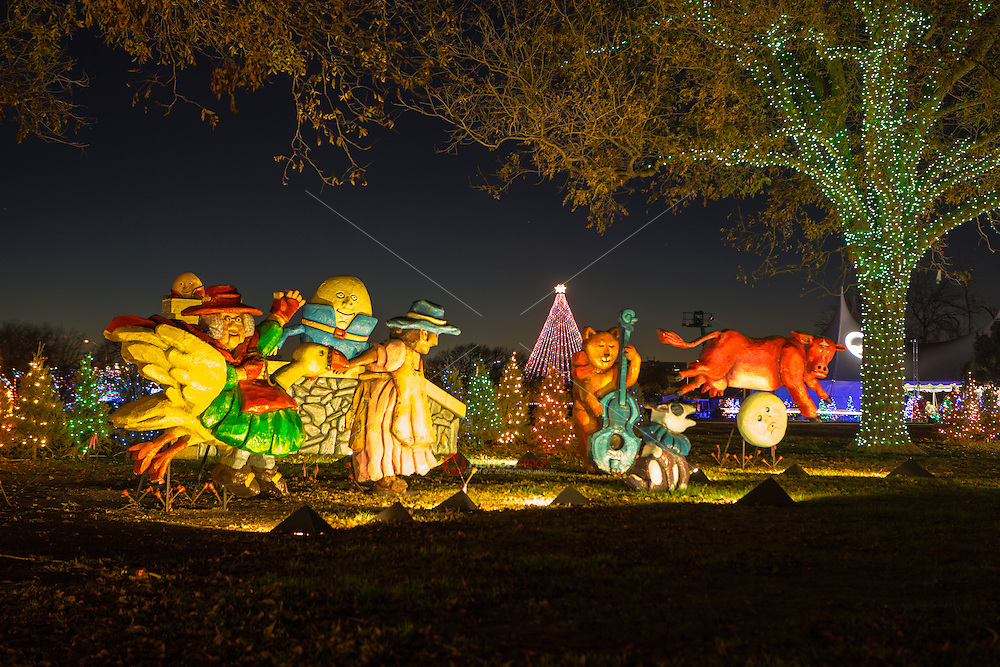 Austin's Zilker Park Holiday Tree and Trail of Lights is a piece of Austin's magical holiday tradition history