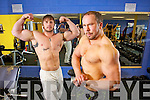 Tralee Bodybuilders Aivaras Kuraitis and David Nelligan who won a number of recent competitions.