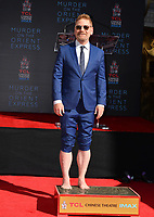 Kenneth Branagh at the hand &amp; footprint ceremony for Kenneth Branagh at the TCL Chinese Theatre, Hollywood. Los Angeles, USA 26 October  2017<br /> Picture: Paul Smith/Featureflash/SilverHub 0208 004 5359 sales@silverhubmedia.com