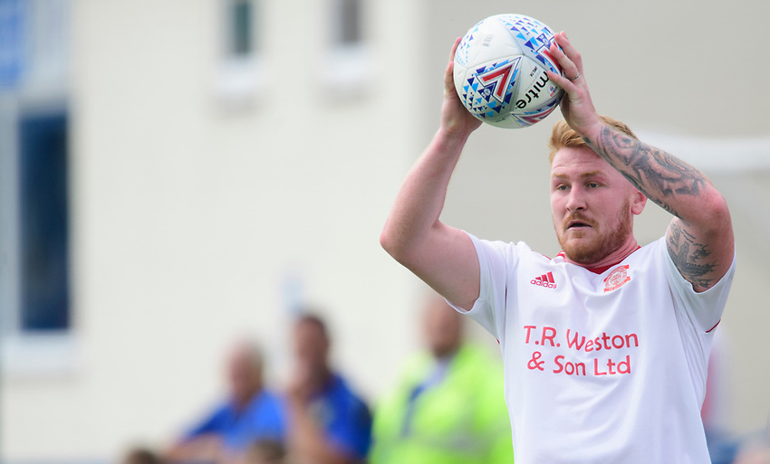 Lincoln United's Mark Gray<br /> <br /> Photographer Chris Vaughan/CameraSport<br /> <br /> Football Pre-Season Friendly (Community Festival of Lincolnshire) - Lincoln City v Lincoln United - Saturday 6th July 2019 - The Martin & Co Arena - Gainsborough<br /> <br /> World Copyright © 2018 CameraSport. All rights reserved. 43 Linden Ave. Countesthorpe. Leicester. England. LE8 5PG - Tel: +44 (0) 116 277 4147 - admin@camerasport.com - www.camerasport.com