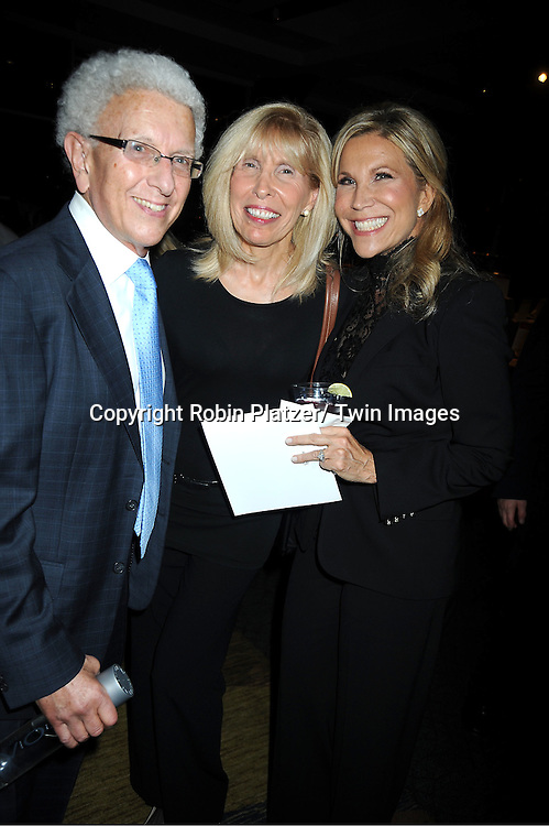 The Fleischmans attends the Center for Hearing and Communication 18th Annual Feast on October 24, 2011 at Pier Sixty in Chelsea Piers in New York City.