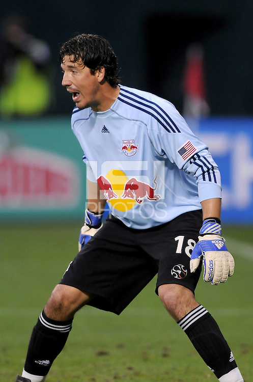 New York Red Bulls goalkeeper Jon Conway (18)  DC United defeated the New York Red Bulls 2-0, at RFK Stadium ,Thursday June 4, 2009.