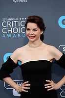 Audrey Moore attends the 23rd Annual Critics' Choice Awards at Barker Hangar in Santa Monica, Los Angeles, USA, on 11 January 2018. Photo: Hubert Boesl - NO WIRE SERVICE - Photo: Hubert Boesl/dpa /MediaPunch ***FOR USA ONLY***