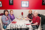 HAPPY BIRTHDAY: Noreen O'Connell, Listowel who was dining out on the occasion of her birthday in Eabha Joan's restaurant, Listowel on Saturday night with l-r: Noreen O'Connell, Teresa Canavan, Trish Behan and Mary Canavan.