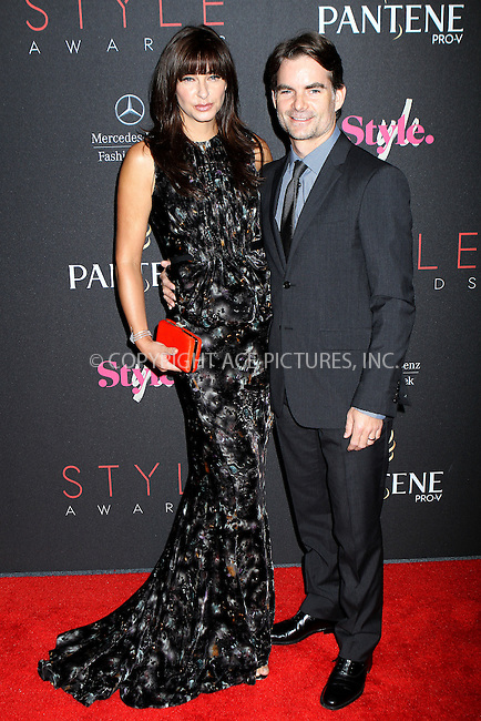 WWW.ACEPIXS.COM....September 5, 2012, New York City, NY.......Ingrid Vandebosch and Jeff Gordon arriving at the 9th Annual Style Awards at Lincoln Center on September 5, 2012 in New York City.........By Line: Nancy Rivera/ACE Pictures....ACE Pictures, Inc..Tel: 646 769 0430..Email: info@acepixs.com