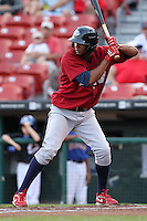 Lehigh Valley IronPigs second baseman Ozzie Chavez during a game vs. the Buffalo Bisons at Coca-Cola Field in Buffalo, New York;  August 1, 2010.  Buffalo defeated Lehigh Valley 2-1 in 10 innings.  Photo By Mike Janes/Four Seam Images