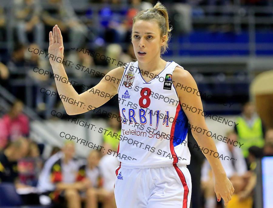 Kosarka- EuroBasket qualifiers 2017<br /> Srbija v Nemacka<br /> Nevena Jovanovic<br /> Beograd, 21.11.2015.<br /> foto: Srdjan Stevanovic/Starsportphoto&copy;