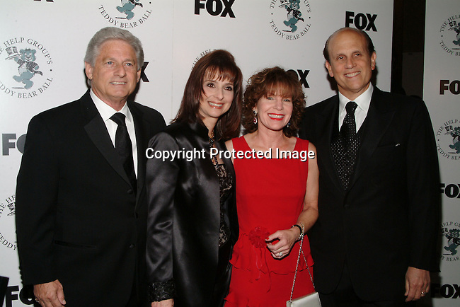 Haim Saban, Dr. Barbara Firestone, Michael Milkin &amp; guest<br />