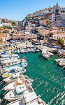 Picturesque little fishing port of Vallon des Auffes, Marseille, France