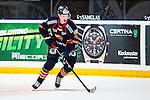 Stockholm 2014-03-27 Ishockey Kvalserien Djurg&aring;rdens IF - R&ouml;gle BK :  <br /> Djurg&aring;rdens Marcus H&ouml;gstr&ouml;m i aktion <br /> (Foto: Kenta J&ouml;nsson) Nyckelord:  DIF Djurg&aring;rden R&ouml;gle RBK Hovet portr&auml;tt portrait