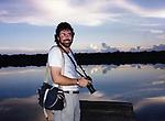 Robert Landau with camera circa 1978