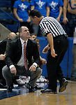 09 February 2008  Utah head coach, Jim Boylen during the Ute's 67-59 victory over Air Force at Clune Arena, Air Force Academy, Colorado Springs, Colorado.