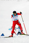 Momoko Dekijima (JPN), <br /> MARCH 12, 2018 - Cross-Country Skiing : <br /> Women's free 15km Standing  <br /> at Alpensia Biathlon Centre   <br /> during the PyeongChang 2018 Paralympics Winter Games in Pyeongchang, South Korea. <br /> (Photo by Yusuke Nakanishi/AFLO)