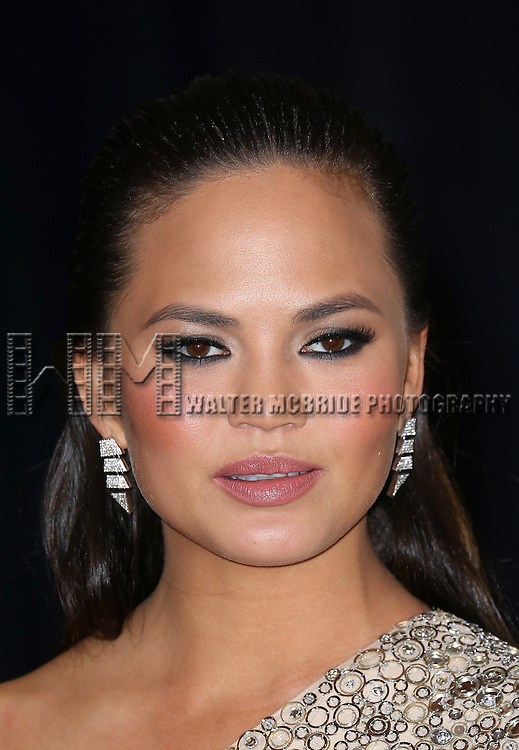 Chrissy Teigen  attending the  2013 White House Correspondents' Association Dinner at the Washington Hilton Hotel in Washington, DC on 4/27/2013
