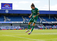 11th July 2020; The Kiyan Prince Foundation Stadium, London, England; English Championship Football, Queen Park Rangers versus Sheffield Wednesday; Josh Windass of Sheffield Wednesday celebrates after scoring his sides 2nd goal in the 45th minute to make it 0-2