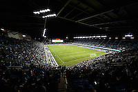 San Jose, CA - Saturday, March 04, 2017: Avaya Stadium during a Major League Soccer (MLS) match between the San Jose Earthquakes and the Montreal Impact at Avaya Stadium.
