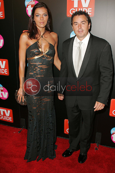 Adrianne Curry and Christopher Knight<br />