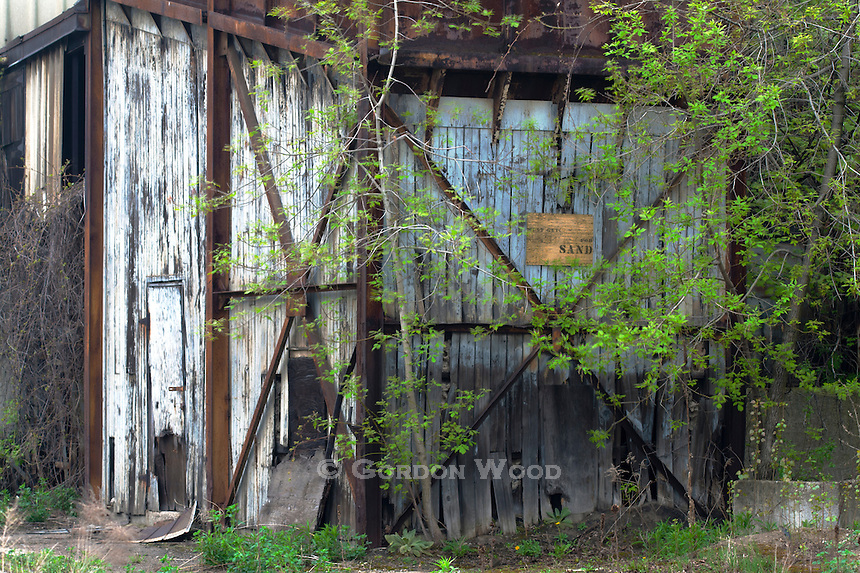 Abandoned Industrial Shed