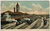 &quot;Union Depot, North Side, Denver, Col.&quot;<br /> D&amp;RGW  Denver, CO