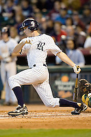 Rice Owls NCAA Baseball at the Houston College Classic Sunday March 1st 2009 at Minute Maid Park in Houston, Texas. Photo by Andrew Woolley.